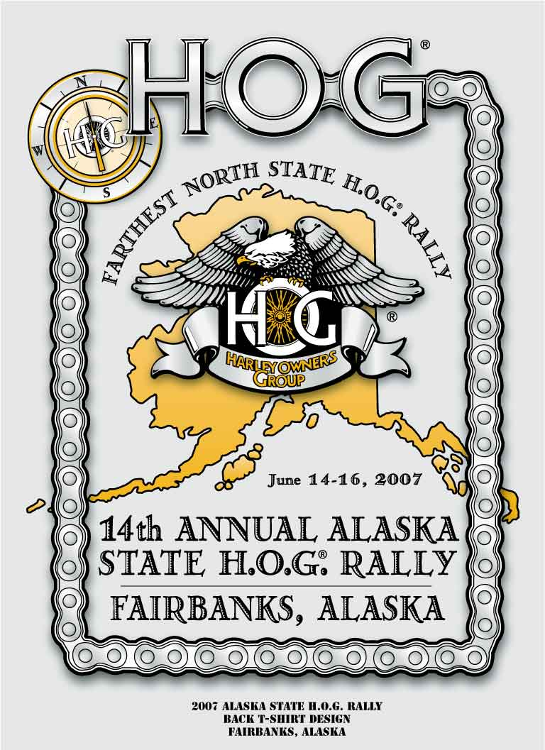 2007 AK HOG Rally Back