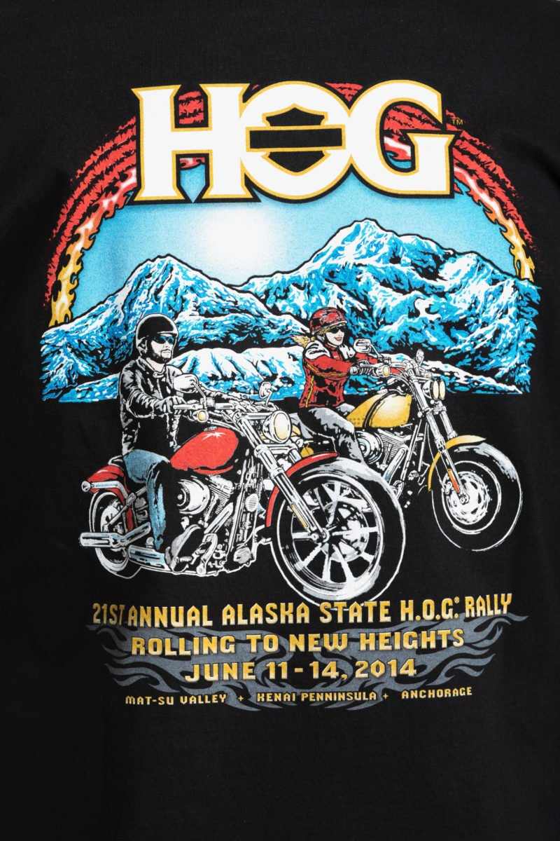 2014-21st HOG Rally-Mtns bikers